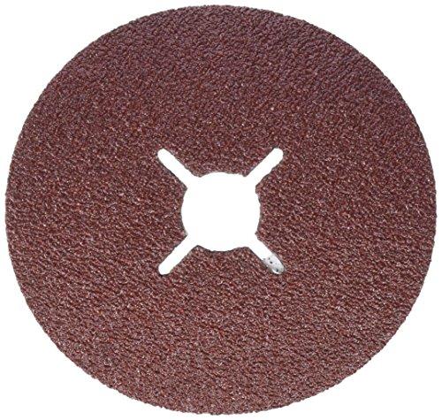 Hitachi  753183 - Disco de Lija para amoladoras angulares 125 mm grano 36 para METAL, 1 unidad