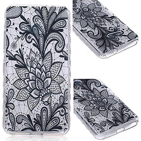 GrandEver TPU Cover per Nokia Lumia 550, UltraSlim Trasparente Morbido