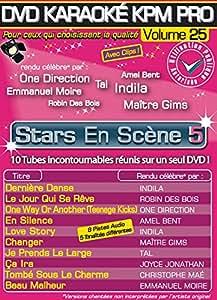 "DVD Karaoké KPM PRO Vol.25 ""Stars En Scène 5"" Tubes 2014"