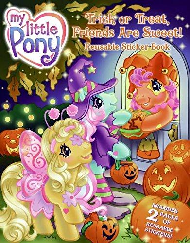 My Little Pony: Trick or Treat, Friends Are Sweet! Reusable Sticker Book (Kindergarten Halloween-thema Aktivitäten)