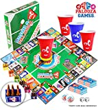 DRINK-A-PALOOZA (COPA-A-PALOOZA) potable juegos para adultos, los mejores juegos de mesa adultos & PARTY GAMES, juegos para adultos y adultos regalos juguetes para adultos y soltero fiesta regalos para fiestas de colegio con reyes juegos de beber, tirón cup & BEER PONG
