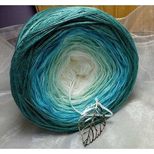 Neuheit!!! 250g Lady Dee's Traumgarne - Farbe: 04 - Karibischer Traum - inspiriert von weißen Sandstränden bis zu türisen Lagunen