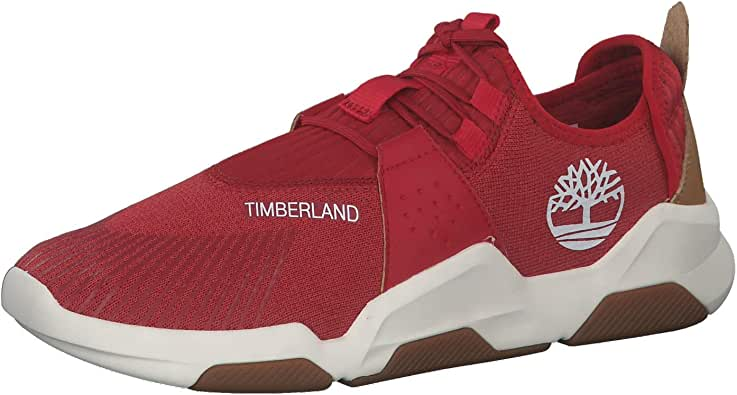 basket homme timberland rouge