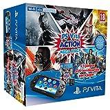 Playstation Vita–Konsole + Action Mega Pack + Speicherkarte, 8GB