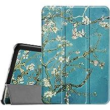 Fintie Samsung Galaxy Tab S2 8.0 Funda - Slim Fit Smart Funda Carcasa con Stand Función y Imán Incorporado para el Sueño/Estela para Samsung Galaxy Tab S2 8.0 pulgadas (Blossom)