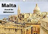 Malta - Juwel im Mittelmeer (Wandkalender 2019 DIN A4 quer): Lassen Sie sich betören vom Charme und der Idylle dieses winzigen Inselstaates. (Monatskalender, 14 Seiten ) (CALVENDO Orte) - Rabea Albilt