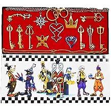 Daiendi Kit de cadenas y llaves de Kingdom Hearts – 13piezas