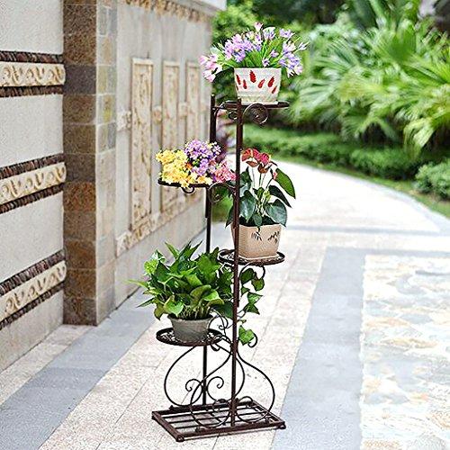 Escalier à Fleurs Support de Fleurs Colonne à Fleurs Colonne à Plantes Porte-Plantes (Couleur : B)
