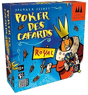 Gigamic - DRKRO - Jeu de carte - Poker Des Cafards Royal