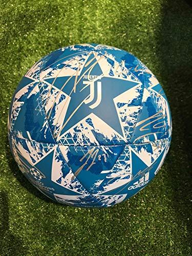 JUVE Pallone Europa Champions League Autografato F.C Juventus 2019/2020
