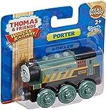 Mattel BDF98 – Fisher-Price Thomas und seine Freunde Porter, Holz Lokomotive, klein - 6
