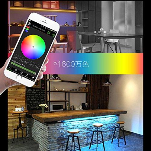 Sharplace DC 5-28V Mini Regolatore Senza Fili di Wifi RGB / GRBW per 5050 3528 LED Luci della Striscia, Funziona con lapplicazione del Telefono delle Cellule - WIFI RGBW Controller WIFI RGBW Controller