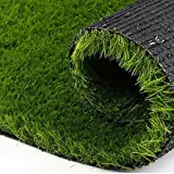 #10: ExtraLarge, Premium Quality, High Density Artificial Lawn Grass For Balcony, Doormat,Turf carpet Mat (6.5 * 2 Feet)