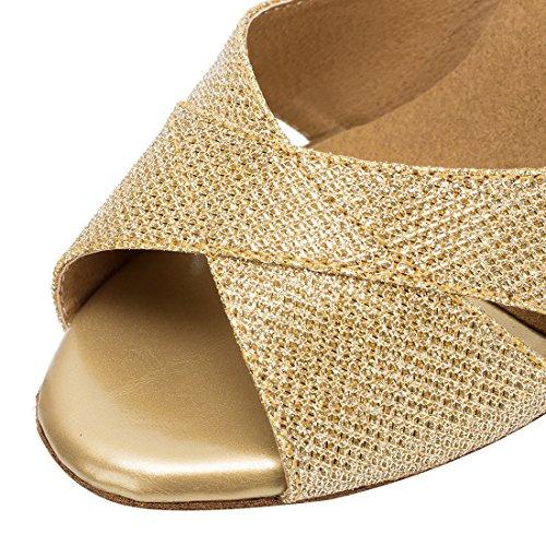 TDA - Peep-Toe donna 7cm Heel Gold