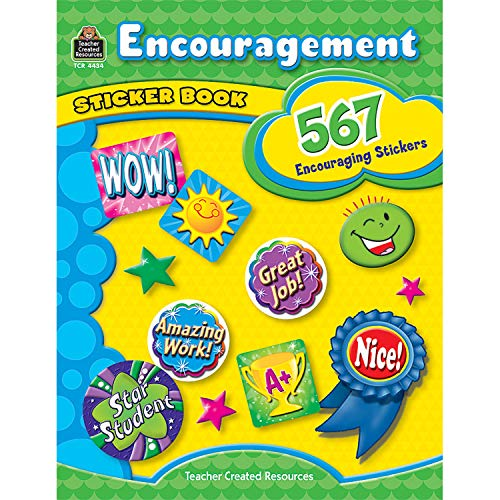 Encouragement Sticker Book por Teacher Created Resources