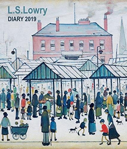 L. S. Lowry 2019. Tischkalender: Original Flame Tree Publishing-Desk Diary. Wochenkalender