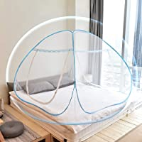 Yoosion Mosquito Net for Bed One Touch Open with Bottom 1.8m 2m Foldable Yurt Mosquito Netting Tent Style for Baby Free…