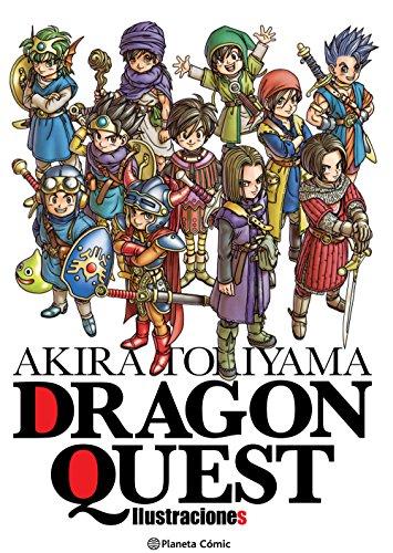 Akira Toriyama Dragon Quest Ilustraciones (Manga Artbooks) por Akira Toriyama