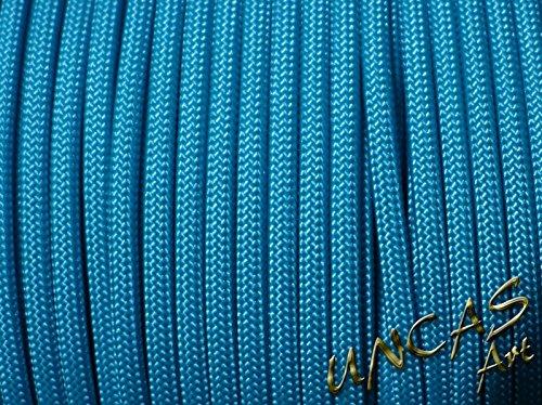 Original bracelet en paracorde 550 tYPE 3–30 m de câble de couleur bleu océan
