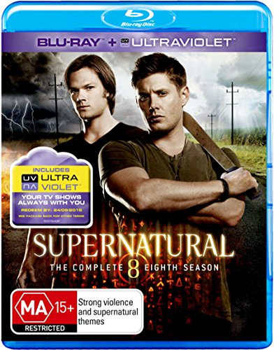 supernatural - Supernatural: Season 8 (Blu-ray/UV) (1 Blu-ray)