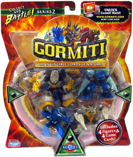 Gormiti The Invincible Lords of Nature 4pack (series 2)