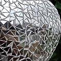 Dekoherz Deko Herz zur Dekoration Hängedekoration Herz Glas MOSAIK Spiegel von Boltze bei Du und dein Garten