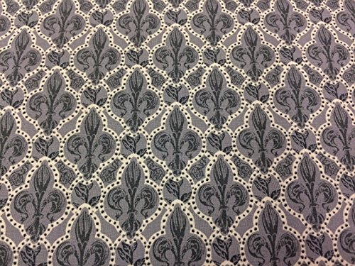 Jane Makower Kleid aus Baumwolle Stoffe–ofenhärtend & Lace Geschichten Medievil Fleur de Lys ()