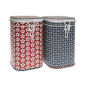 «grandes boîtes scandic, de 2 (pour env. 250 g de thé)