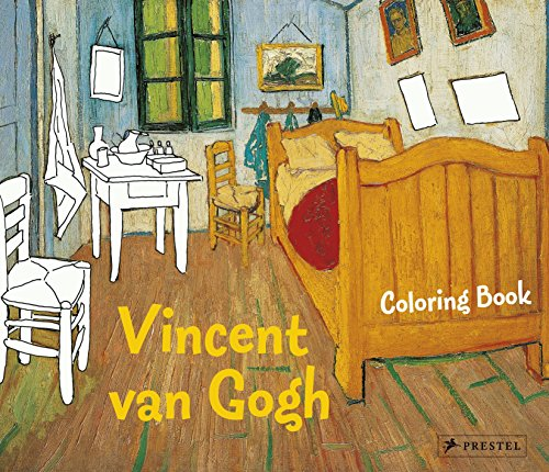 Coloring Book Vincent Van Gogh (Colouring Books) por Annette Roeder