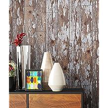Holz Muster Tapete Beige Grau Braun Edel | Schöne Edle Tapete Im Holzwand  Design | Moderne