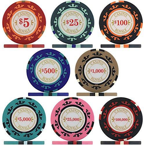 Premier Poker Chips UK Crown Casino Royale Poker Chips - Sample Pack