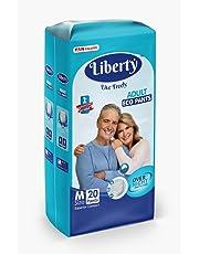 Liberty Eco Adult Diaper Pants, Medium 20's Pack (61-115 Cms | 24-45Inches)