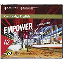 Cambridge English Empower for Spanish Speakers A2 Class Audio CDs (4)