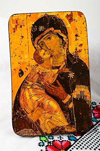 Icono religioso hecho a mano articulo religioso cristiano decoracion de pared
