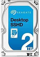 Seagate Desktop 2 TB Solid State Hybrid Drive SATA 6 GB with NCQ 64 MB Cache 3.5 Inch (ST2000DX001)