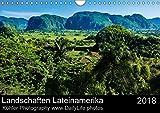 Landschaften Lateinamerika (Wandkalender 2018 DIN A4 quer): Eine Reise durch atemberaubende Landschaften (Monatskalender, 14 Seiten ) (CALVENDO Natur)