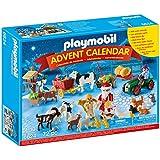 Playmobil - 6624 - Calendrier de l'Avent ''Père Noël à la ferme''