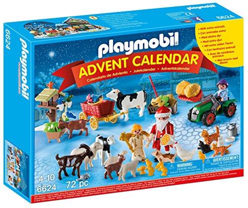 Playmobil 6624 Christmas on The Farm Advent Calendar with Santa Playset