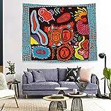 mmzki Tapicería Decorativa Impresa Fondo nórdico Tela ins tapicería Tela Colgante GT1080 150 * 130