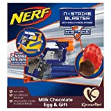 Best Nerf Nerfs - Nerf N-Strike Blaster with Milk Chocolate Egg, 45 Review