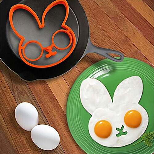 ➹ Loveso ➹ Egg Omelette Pancake Maker 2017 New Product Fantastic Fast & Easy Way to Make Perfect Panicakes Tool (A, Rot)