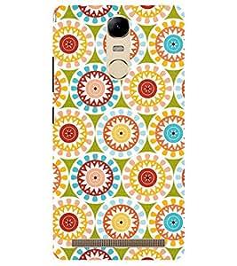 Chiraiyaa Designer Printed Premium Back Cover Case for Lenovo K5 Note (flower pattern colorful) (Multicolor)