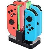 Diyife Caricatore per Nintendo Switch,[più Recente] Stazionamento di Ricarica per Switch Caricabatterie Supporta Joy-con…