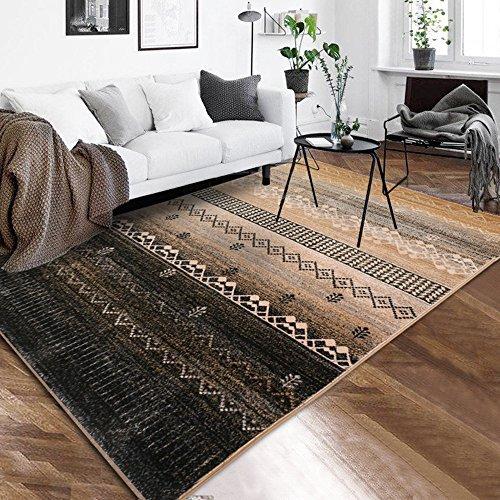 WSLTH einfach Northern Home Teppich europäischen American Wohnzimmer Couchtisch Schlafzimmer Teppich Foto Decke Dicker waschbar, 1.6 * 2.3M - Bettwäsche Nights Northern