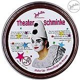 Theaterschminke / Schminke (13 Farben / 25 g) FREI WÄHLBAR (BRAUN)
