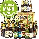 Traummann ♥ Bier Adventskalender mit Bieren der Welt und Deutschland INKL gratis Bierbuch ♥