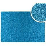 Clara Vidal - Alfombra tipo moqueta Hamilton, 100x150 cm, azul