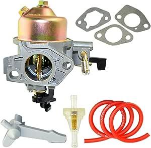 Ahl Vergaser Carburetor Carb Mit 30cm Ölschlauch Kraftstofffilter Dichtungen Hebel Für Honda Gx390 13hp Baumarkt