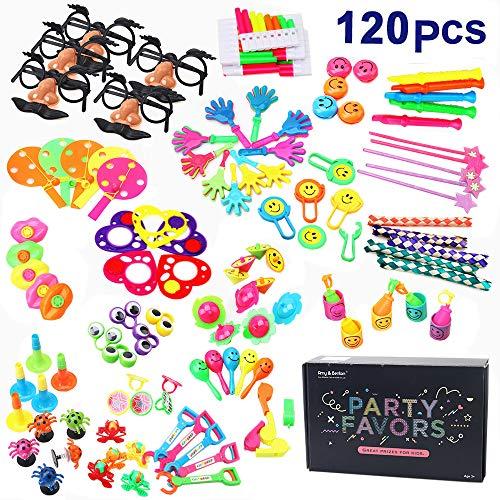 (Amy & Benton 120 Set Kinder Geburtstag Party Favor & Giveaways Mix - Kleine Geschenke für Kids - Kids Party Give Aways & Pinata Spielzeug, Kleine Spielzeuge, Teile Werbegeschenk & Vieles Mehr)