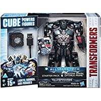Hasbro Transformers C3480ES0 - Movie 5 All Spark Tech Starter Set Shadow Spark Optimus Prime, Actionfigur